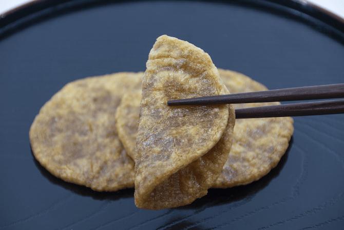 柔らかい煎餅