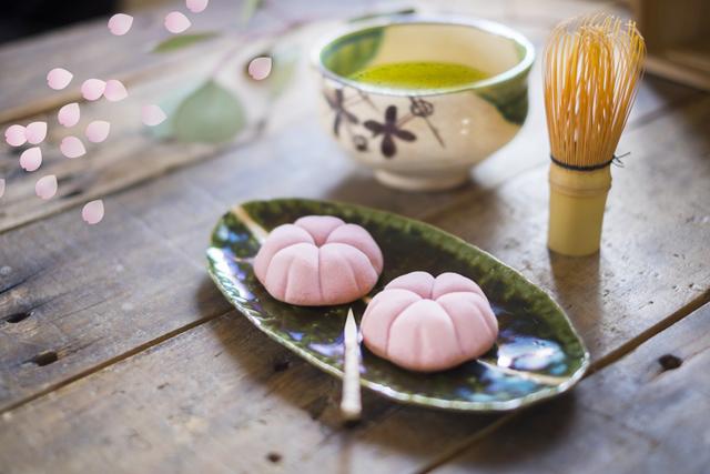 桜の和菓子